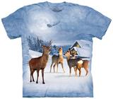 Deer In Winter T-Shirt