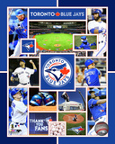 Toronto Blue Jays 2015 Team Composite Photo
