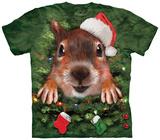 Xmas Tree Squirrel Shirts