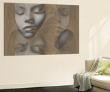 Grey Beauty Wall Mural by  NaxArt