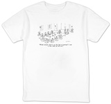 """Would everyone check to see they have an attorney I seem to have ended u"" - New Yorker T-Shirt Shirts by Michael Maslin"