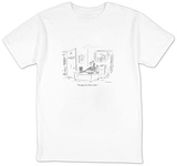 """Oh, that three billion dollars."" - New Yorker T-Shirt T-shirts by David Sipress"