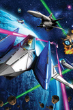 Star Fox 64- Space Battle Prints