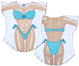 Seafoam Sparkle Bikini Cover-Up T-shirts