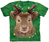 Youth: Lights Reindeer T-shirts