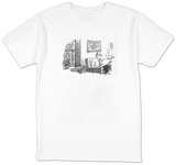 """God Protect Our Stabilized Rental"" - New Yorker T-Shirt T-Shirt by Dana Fradon"