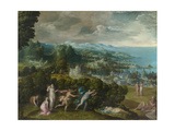 The Death of Eurydice, 1552-71 Giclee Print by Niccolo dell' Abate