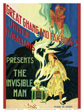 Great Ghang (Chang) and Fak-Hong's United Magicians - Presents The Invisible Man Poster