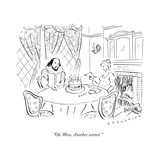 """Oh. Wow. Another sonnet."" - New Yorker Cartoon Premium Giclee Print by Trevor Spaulding"