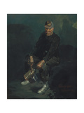 The Miner, 1925 Giclee Print by George Luks