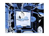 Wired Premium Giclee Print by Istvan Banyai