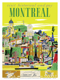 Visit Historical and Gay - Montreal, Canada Prints by Roger Couillard