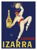Liqueur Izarra - Grande Liqueur de la Côté Basque (of the Basque Country) Poster