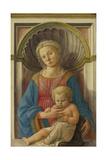 Madonna and Child, c.1440 Giclée-tryk af Fra Filippo Lippi