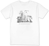 """I have a couple of other projects I'm excited about."" - New Yorker T-Shirt Shirt by Mike Twohy"