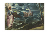 Christ at the Sea of Galilee, c.1575-80 Giclee Print by Jacopo Robusti Tintoretto