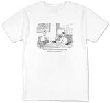 """These new regulations will fundamentally change the way we get around the?"" - New Yorker T-Shirt T-shirts by Peter C. Vey"