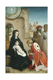 Adoration of the Magi, c.1508-19 Giclee Print by Juan de Flandes