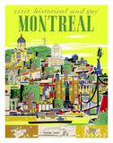 Visit Historical and Gay - Montreal, Canada Giclee-vedos tekijänä Roger Couillard