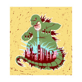 Wired Regular Giclee Print by Stephanie Pena