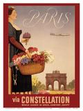 Paris via Constellation - World Leader in Speed, Comfort, Safety Prints