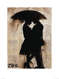 Rain Lovers Poster by Loui Jover
