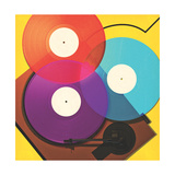 Wired - Music Regular Giclee Print by Tavis Coburn