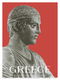Greece - Delphi the Charioteer - Delphi Archaeological Museum Posters by Spyros
