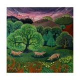 Totally Organic Giclee Print by Lisa Graa Jensen