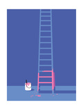 Wired - Ladder Regular Giclee Print by Ben Wiseman