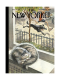 The New Yorker Cover - October 5, 2015 Premium Giclee Print by Peter de Sève