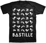 Bastille- Owl Shirts