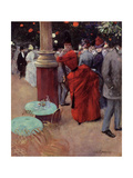 At the Public Garden, c.1884 Giclee Print by Jean Louis Forain