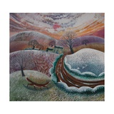 First Flurry, 2014 Giclee Print by Lisa Graa Jensen