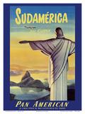 South America by Clipper Print