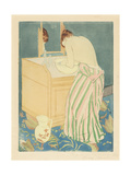 Woman Bathing, 1890-1 Giclee Print by Mary Cassatt