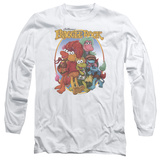 Long Sleeve: Fraggle Rock- Group Hug Long Sleeves