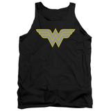 Tank Top: Wonder Woman- Logo Tank Top