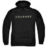 Hoodie: Journey- Repeat Logo Pullover Hoodie