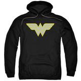 Hoodie: Wonder Woman- Logo Pullover Hoodie