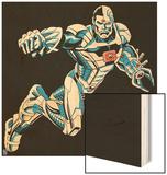 Justice League Design Wood Print
