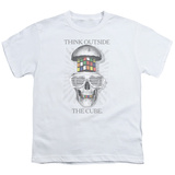 Youth: Rubik's Cube- Outside The Cube T-shirts