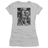 Juniors: Aquaman- King Of Atlantis T-shirts