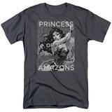 Wonder Woman- Princess Of The Amazons T-shirts