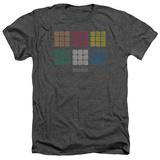 Rubik's Cube- Minimal Squares Shirts