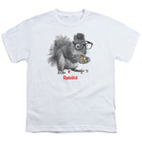 Youth: Rubik's Cube- Nerd Squirrel T-shirts
