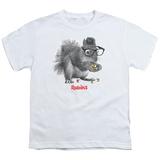 Youth: Rubik's Cube- Nerd Squirrel T-shirts