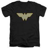 Wonder Woman- Logo V-Neck V-Necks