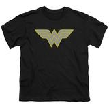 Youth: Wonder Woman- Logo T-Shirt