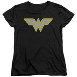 Womens: Wonder Woman- Logo T-Shirt